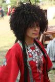georgian folk gen för konstfestival Fotografering för Bildbyråer