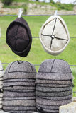 Georgian hats Stock Image