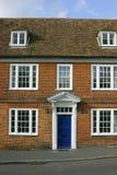 Georgian House front. Symmetrical English historic house Stock Photo