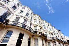 Georgian houses, Brighton Stock Images