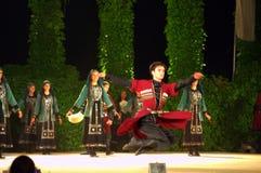 Georgian jump dance Stock Photo