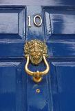 georgian knocker drzwi Fotografia Stock