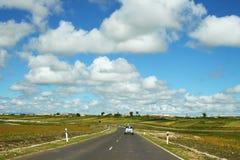 Georgian landscape stock photo