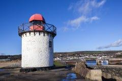 Georgian Lighthouse at Burry Port Stock Photography