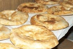 Georgian national bread - lavash Stock Image