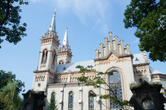 Georgian orthodox cathedral of Virgin Mary in Batumi,Adzharia Royalty Free Stock Images
