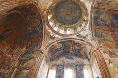 Georgian orthodox monastery Gelati royalty free stock image