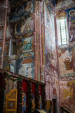 Georgian orthodox monastery Gelati inside Royalty Free Stock Photography