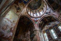 Georgian orthodox monastery Gelati inside stock photos