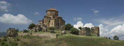 Georgian Orthodox Monastery Jvari near Mtskheta  Eastern Georgia Stock Images