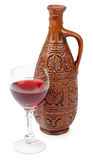 Georgian red wine Stock Photography