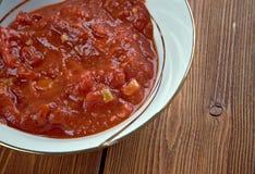Georgian sauce adjika Stock Photos