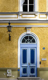 Georgian style doorway Royalty Free Stock Images