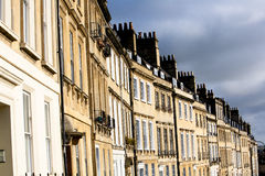 Georgian Terrace in Bath, UK Stock Photography