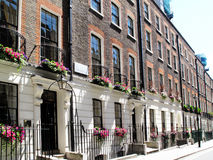 Free Georgian Terraced Houses Royalty Free Stock Photography - 37426307