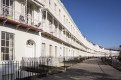 Georgian Terraced Houses Stock Images