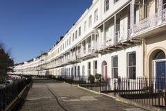 Georgian Terraced Houses Stock Photos