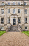 Georgian Town House. The front entrance to an excellent and well preserved Georgian Town House located in Salisbury, Wiltshire in England royalty free stock photo