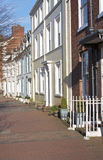 Georgian Town Houses Stock Photography