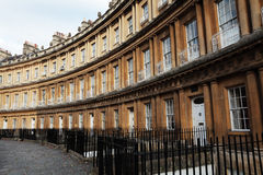 Georgian town houses in Bath Royalty Free Stock Photography