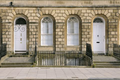 Free Georgian Town Houses Exterior Royalty Free Stock Images - 14554399
