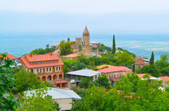 Georgian town Signakhi Royalty Free Stock Image