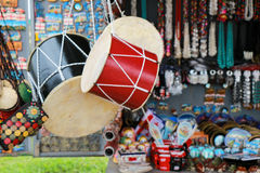 Georgian traditional  drum in a market in Tbilisi. Georgian traditional  drum in a market Royalty Free Stock Photos