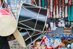 Georgian traditional  drum in a market in Tbilisi. Georgian traditional  drum in a market Stock Photo