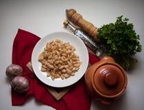 Georgian white beans Royalty Free Stock Photo