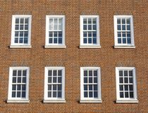 Georgian windows Royalty Free Stock Photo
