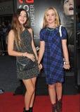 Georgica Pettus & Kathryn Newton Stock Photo