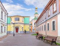 Georgievskaia-Straße in Vladimir Russland Lizenzfreie Stockfotos