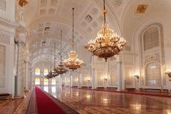 Georgievsky大厅 免版税库存图片