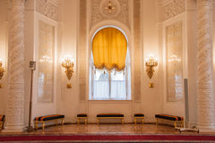 Georgievsky Hall des der Kreml-Palastes Lizenzfreie Stockfotografie