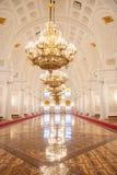 Georgievsky Hall of the Kremlin Palace Royalty Free Stock Photo
