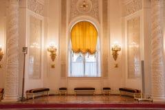 Georgievskyzaal van het Paleis van het Kremlin Royalty-vrije Stock Fotografie