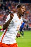 Georginio Wijnaldum scores a goal Stock Images
