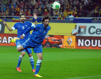 Georgios Samaras during FIFA World Cup Playoff Game Stock Images