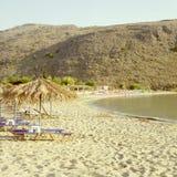 Georgioupolis beach Royalty Free Stock Image