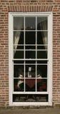 Georgisch venster Stock Fotografie