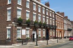 Georgische Architektur, Liverpool, Großbritannien lizenzfreie stockfotografie