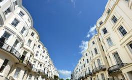 Georgische Häuser, Brighton Stockfoto