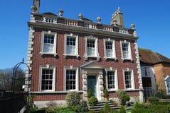 Georgische housePoole Dorset Royalty-vrije Stock Afbeeldingen
