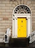 Georgische Tür in Dublin Stockfoto