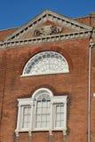 Georgische witte vensters Stock Afbeeldingen