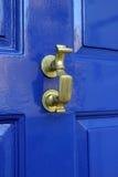 Georgischer Tür-Klopfer Stockbild