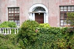 Georgisk dörr, Galway, Irland royaltyfria foton