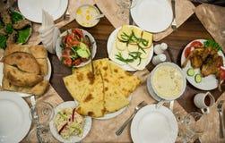 Georgisk mat Arkivfoton