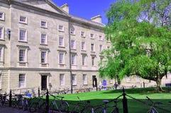 Georgiska byggande Dublin Royaltyfri Bild
