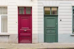 Georgiska Front Doors arkivfoton